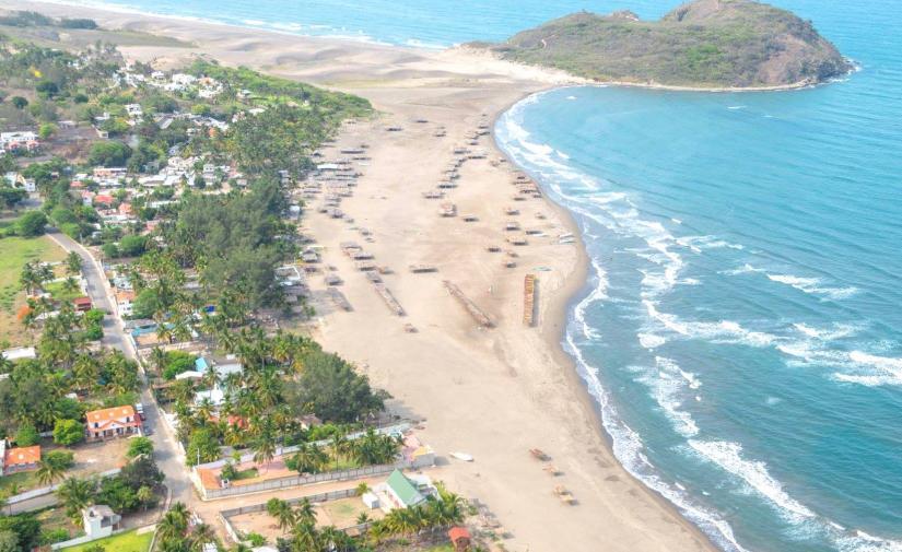 Playa de Villa Rica y Quiahuiztlan, Zona Arqueológica