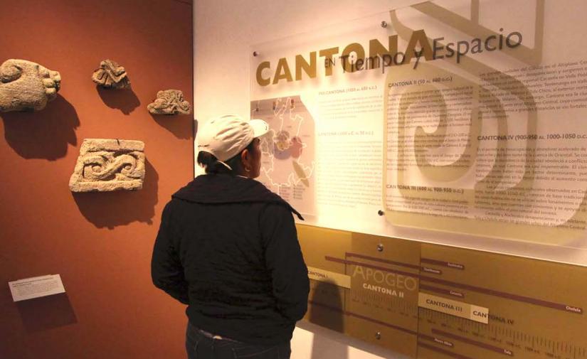 Zona arqueológica de Cantona y Huamantla